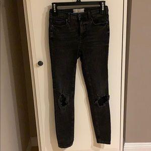 Free People Skinny Jeans Sz 25